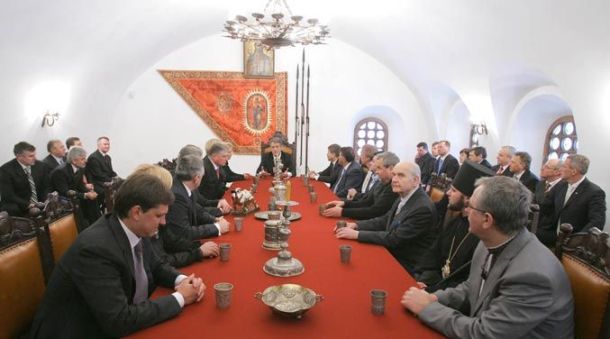 Президент в Батурине