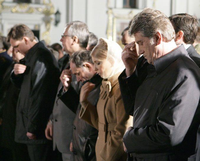 Пасха объединяет украинских политиков