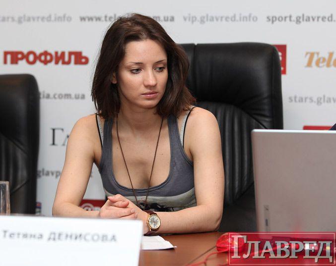Голая Татьяна Денисова (Хореограф)