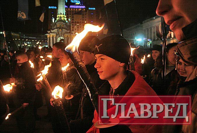 В честь годовщины Бандеры националисты проведут факельные шествия