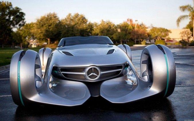 Mercedes представил футуристический концепткар (ФОТО, ВИДЕО)