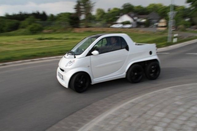 Немцы представили новый Smart-пикап (ФОТО)