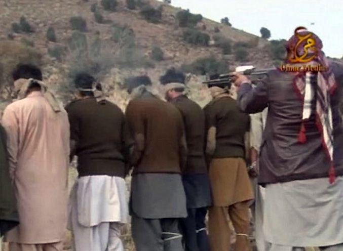 Талибы расстреляли 15 пакистанских военных (ФОТО, ВИДЕО) - Жизнь - Главред