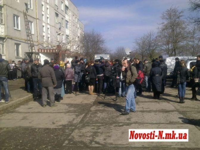 Оксану Макар похоронили: фото, видео, все подробности