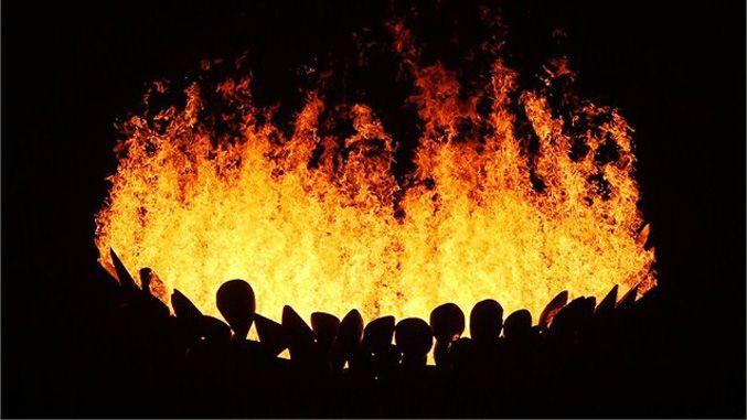 Грандиозное шоу открытия XXX летней Олимпиады в Лондоне