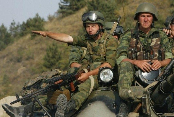 Российские оккупанты в Грузии
