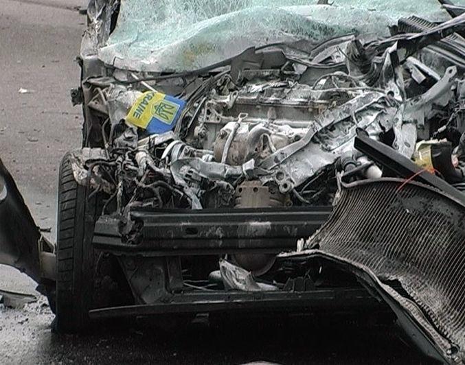 Опубликованы фото смертельного ДТП в Киевской области
