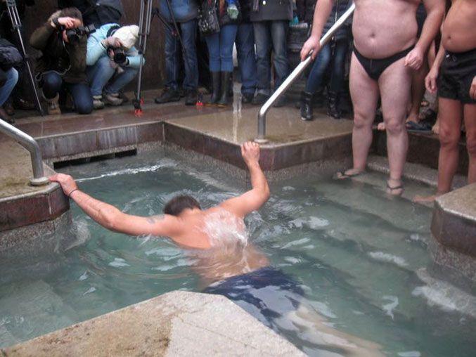 Как политики Крещение праздновали: опубликованы фото