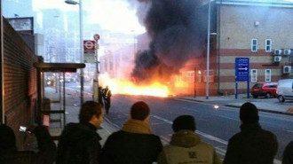 Число пострадавших при крушении вертолета в Лондоне увеличилось до 9