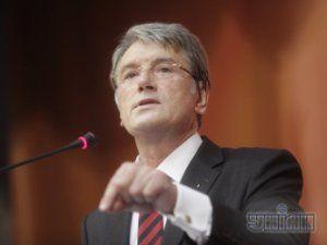 Ющенко заканчивает стройку в Карпатах