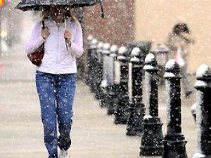 В Киеве ожидается дождь с мокрым снегом