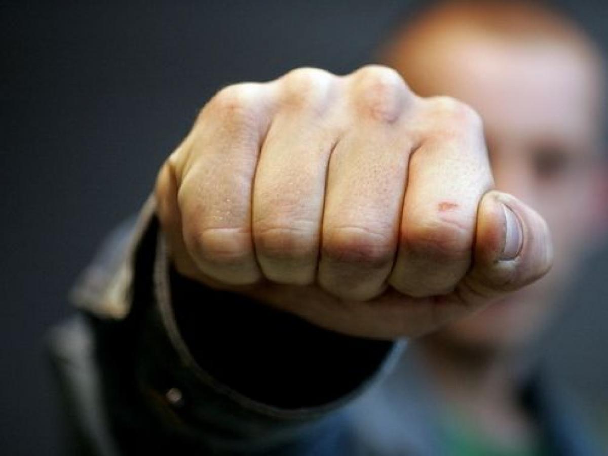 В Киеве мужчина одним ударом