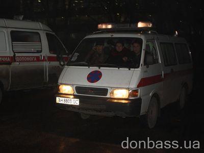 Раненых сразу отправляли в больницу