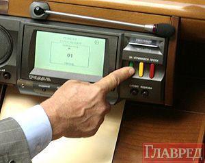 Закон поддержали 373 депутата