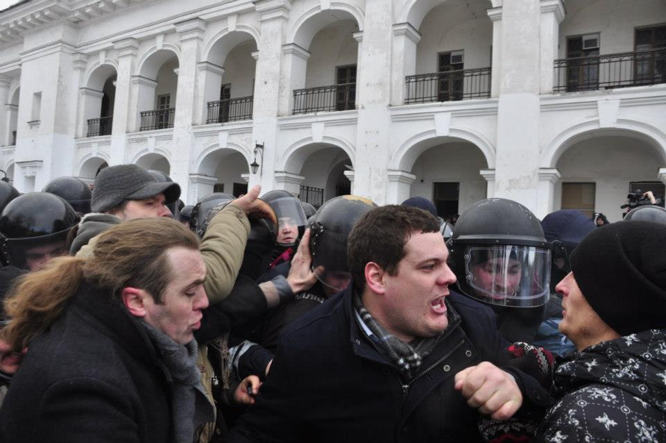 Свободовцы Мирошниченко и Ильенко были в первых рядах во время драки с