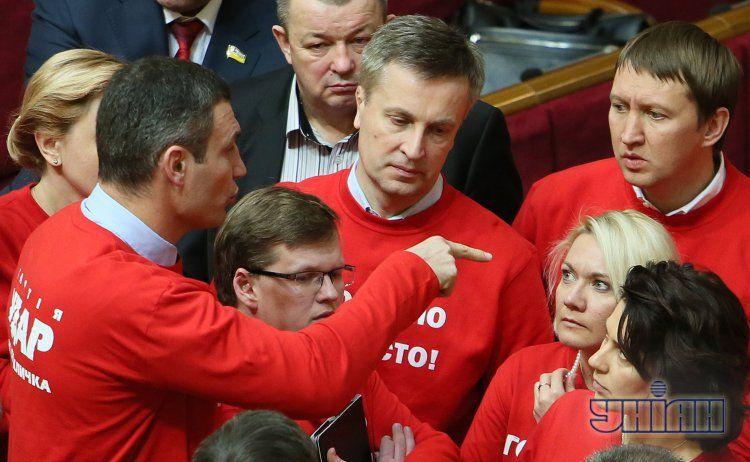 На ночные дежурства в Раде традиционно остаются соратники Кличко