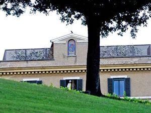 новая резиденция Папы Бенедикта XVI