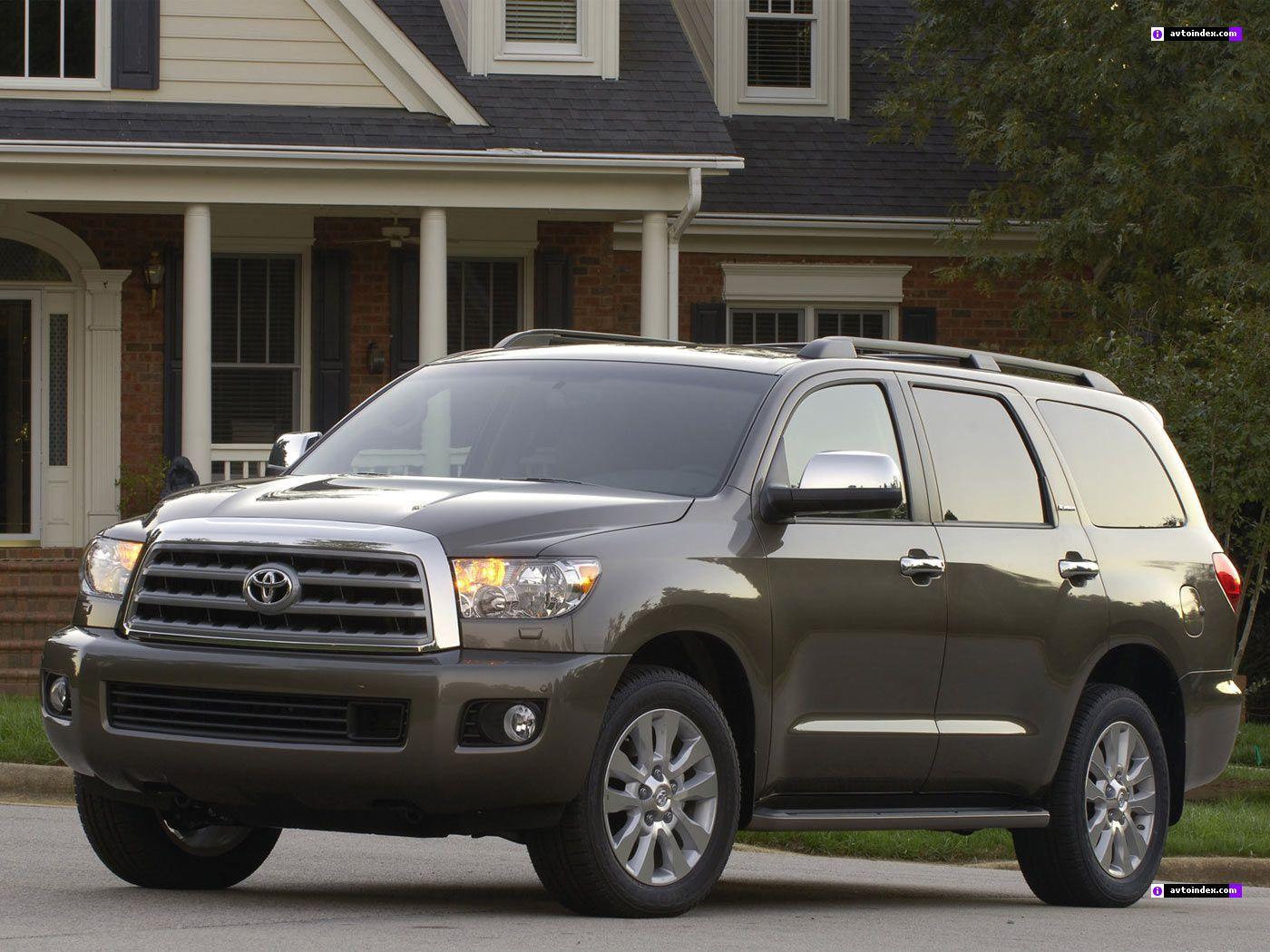 Новая Toyota Sequoia стоит около 90 тыс. долл.