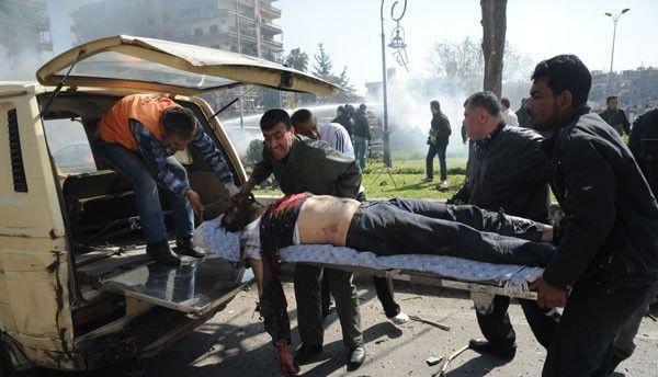Медики не справлялись с наплывом раненых