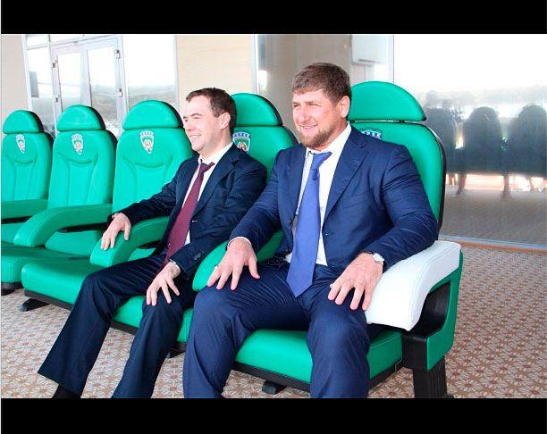 Кадыров выложил в соцсети фото из личного архива