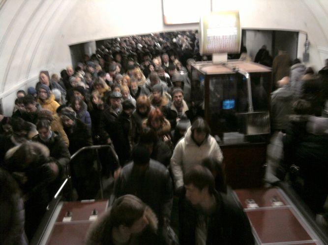 Киевское метро в