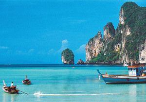 В Таиланде затонул катер с туристами из России