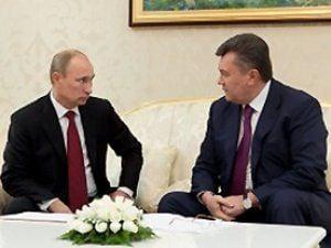 В Киеве Путин встретится с Януковичем