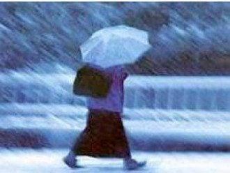 Завтра будут мокрый снег и дождь