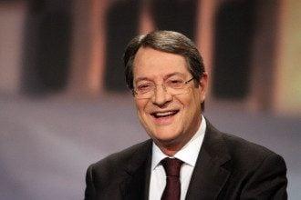 Никос Анастасиадис избран президентом Кипра