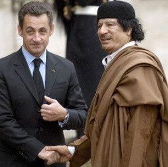 Сын Каддафи готов дать показания против Саркози.