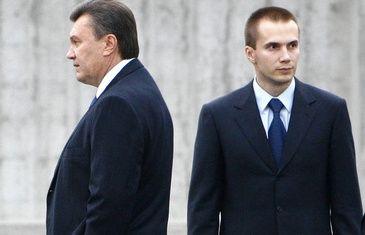 Президент с сыном Александром