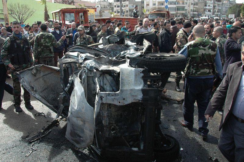 В Сирии ведутся ожесточенные бои
