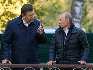 Янукович и Путин уже встречались в