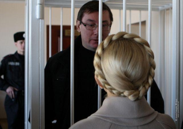 В прошлый раз Луценко и Тимошенко виделись в суде