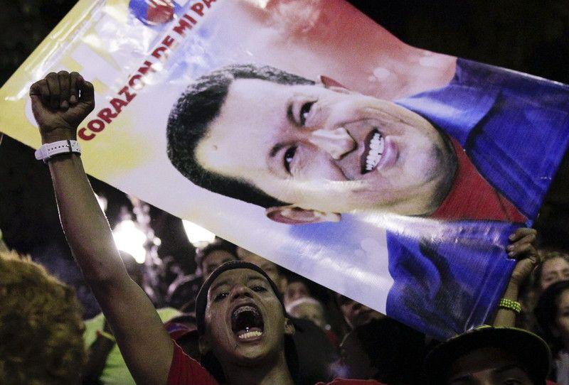 Смерть Чавеса не оставила равнодушными ни друзей, ни врагов