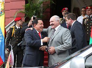 Лукашенко и Чавеса связывали тесные дружеские отношения