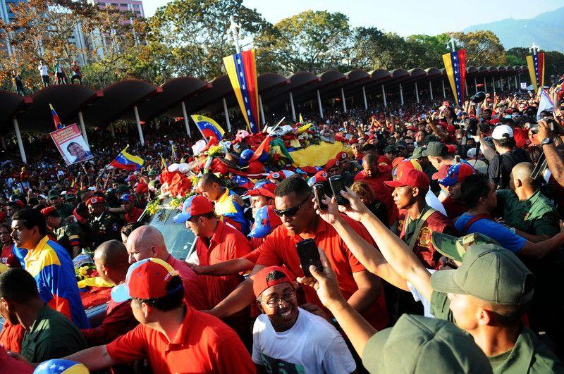 Прощание с Чавесом продлено