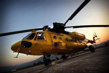 В Конго нашелся пропавший российский вертолет