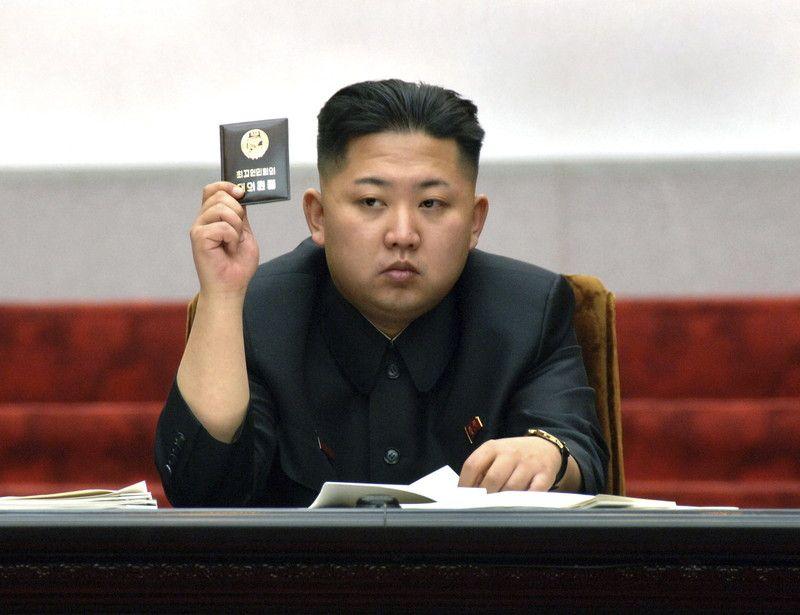 Диктатор КНДР Ким Чен Ын