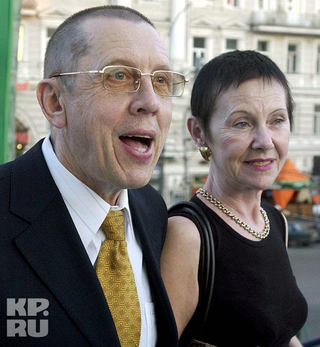 Валерий Золотухин со второй женой Тамарой Владимировной