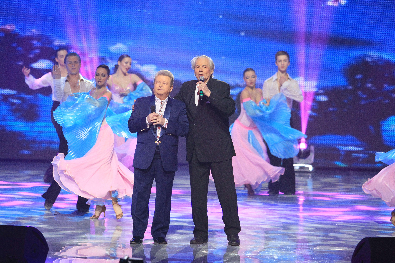 Народный артист Украины Дмитрий Гнатюк и Михаил Поплавский