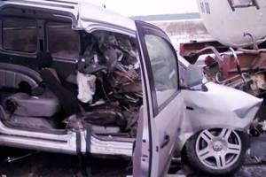 В аварии погибли россиянин и два молдаванина