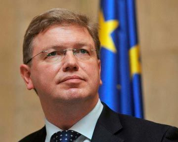 Комиссар Евросоюза Штефан Фюле