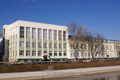 Здание колледжа, где были захвачены заложники