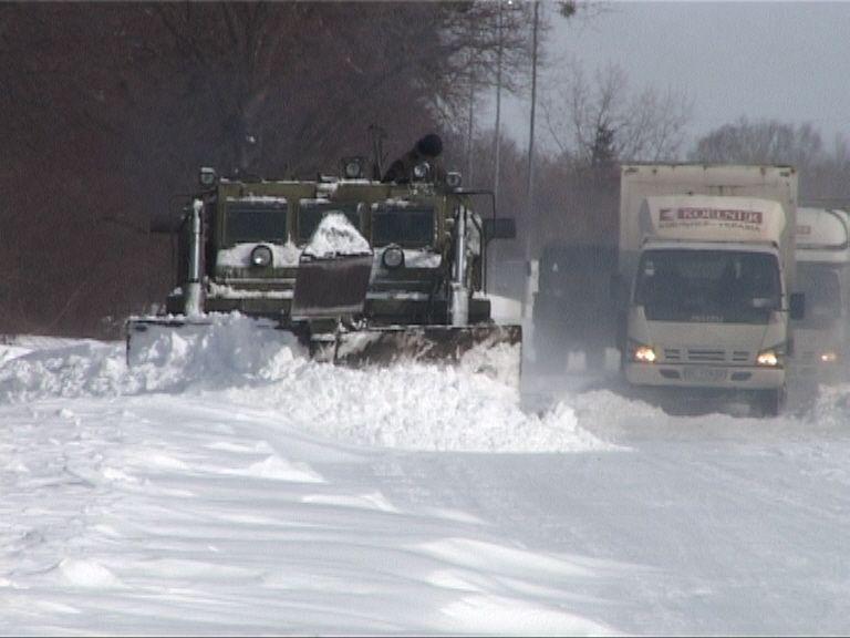 В Киеве ГАИ перекрыла движение по Варшавскому шоссе