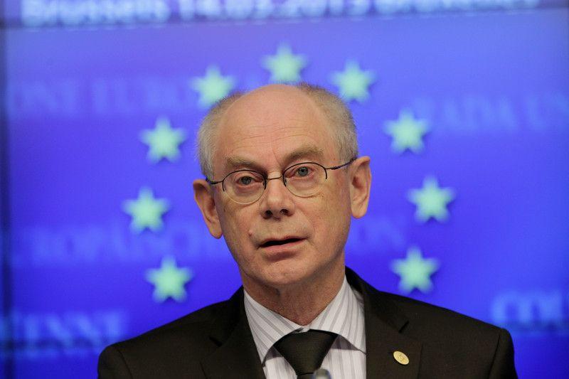 Глава Евросовета Херман ван Ромпей