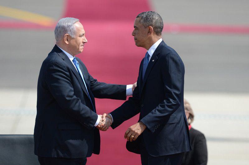 Обама едва смог добраться на встречу с Нетаньяху