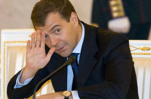 Дмитрий Медведев танцевал под ВВ
