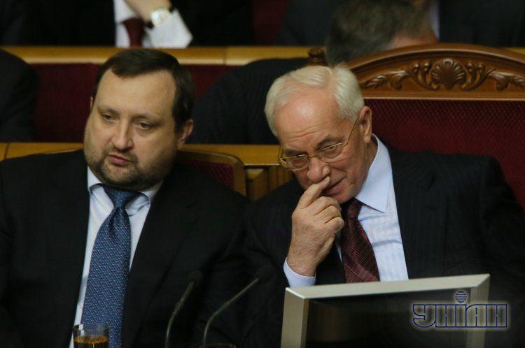 Сергей Арбузов и Николй Азаров
