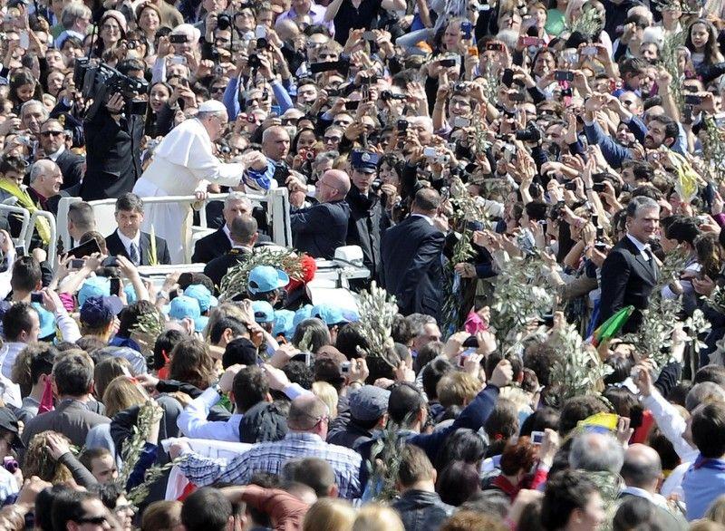 Послушать Папу Франциска пришли четверь миллиона верующих
